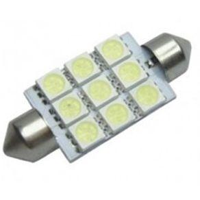 Lampada-Led-BA42-5050-9---9-Leds-Automotiva-