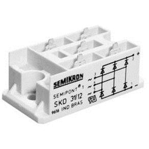 Ponte-Retificadora-Trifasica-30-amper-400v-Semikron-SKD31-04-Codigo-RDR-1038-